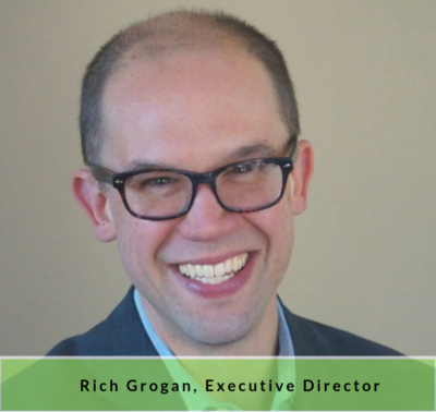A portrait of Rich Grogan, Executive Director